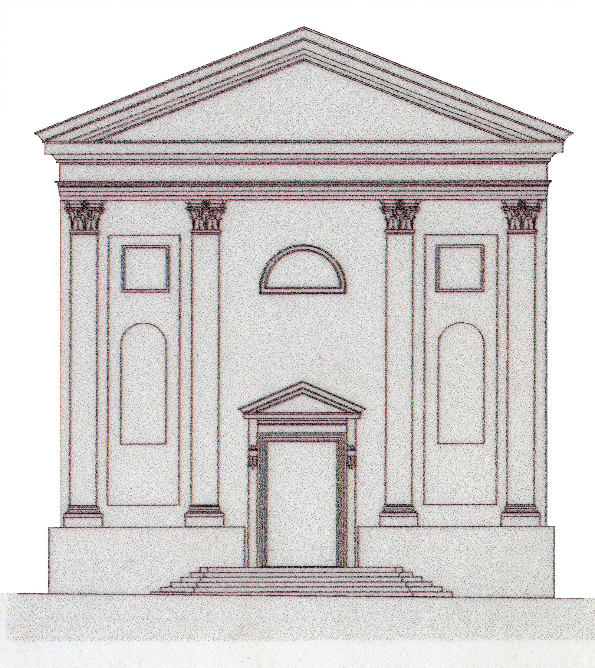 Prospetto di una chiesa dubbio blender help for Posso permettermi di costruire una nuova casa